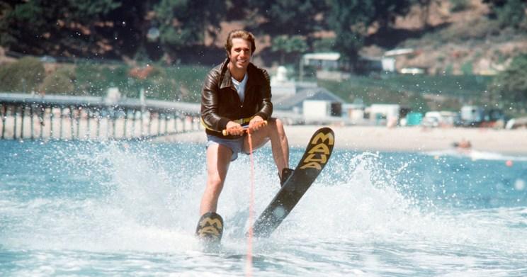 HurraaKerkko Henry Winkler Fonzie Jump the Shark