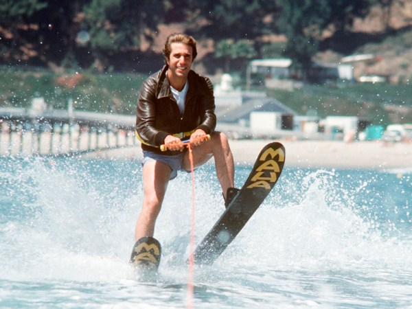 HurraaKerkko Henry Winkler Fonzie Jump the Shark