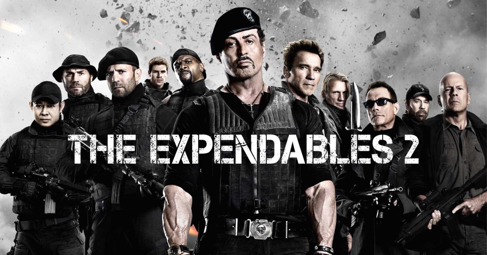 The Expendables 2 Stallone Schwarzenegger Willis