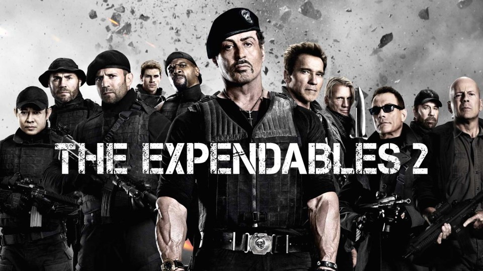 The Expendables 2 Stallone Schwarzenegger Willis
