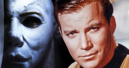 HurraaKerkko Halloween naamio kapteeni Kirk Shatner