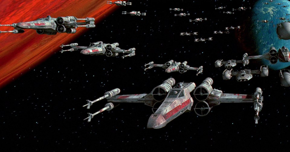 Star Wars Battle of Yavin