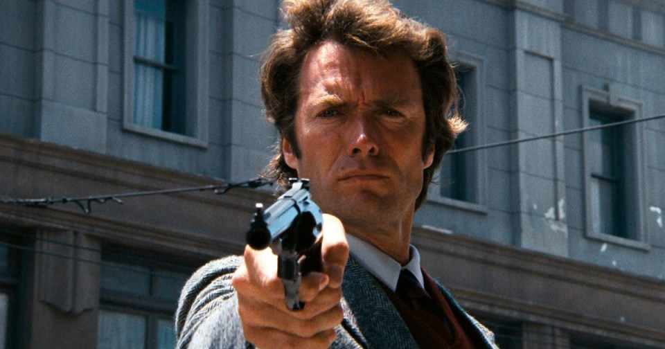 HurraaKerkko parhaat toimintaelokuvat Dirty Harry Callahan Clint Eastwood