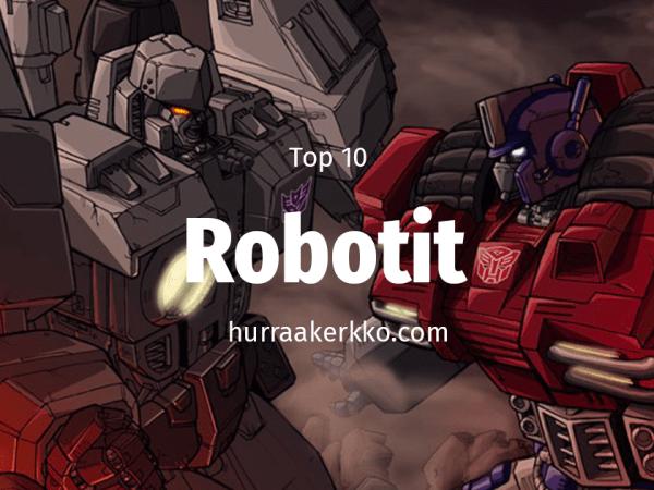 TOP 10 robotit elokuvissa, musiikissa ja muualla viihdemaailmassa