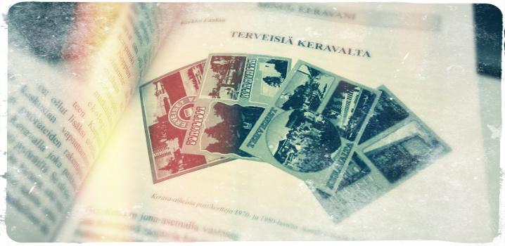 Kotikaupunkini Kerava -kirja saapuu pian myyntiin.