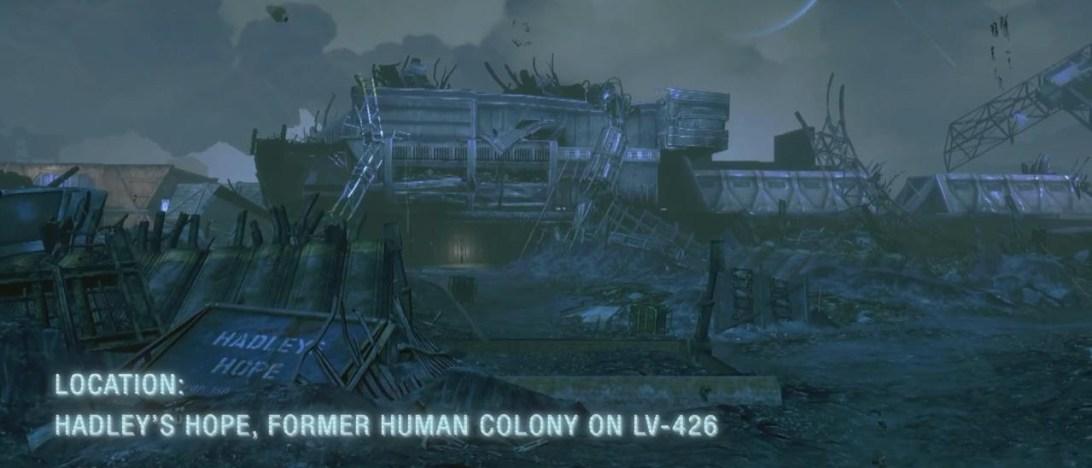 Alien-elokuvista tuttu LV-426-planeetta odottaa vielä löytäjäänsä, joten uudisraivaajien asuttama Hadley's Hope ei tähän kärkikymmenikköön pääse.