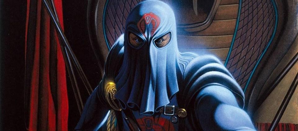 """""""No man is an island"""", sanotaan, mutta Cobra Commander on niin kova, että rakentaa itselleen saaren."""