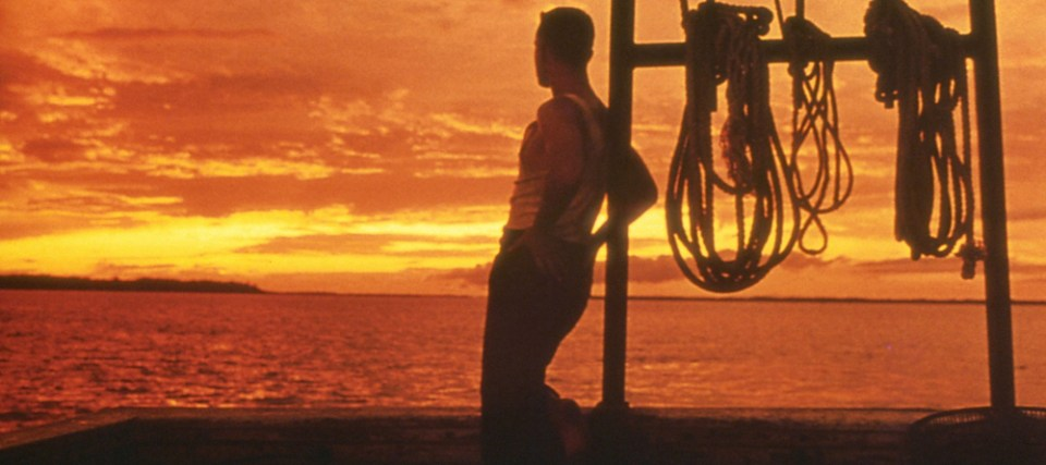 Forrest Gump boat sunset Tom Hanks