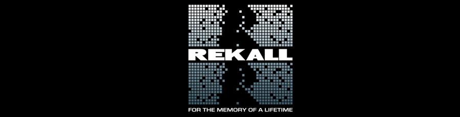 Rekall company logo Total Recall