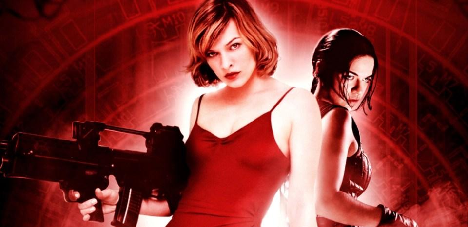 Paul WS Anderson Milla Jovovich Resident Evil movie