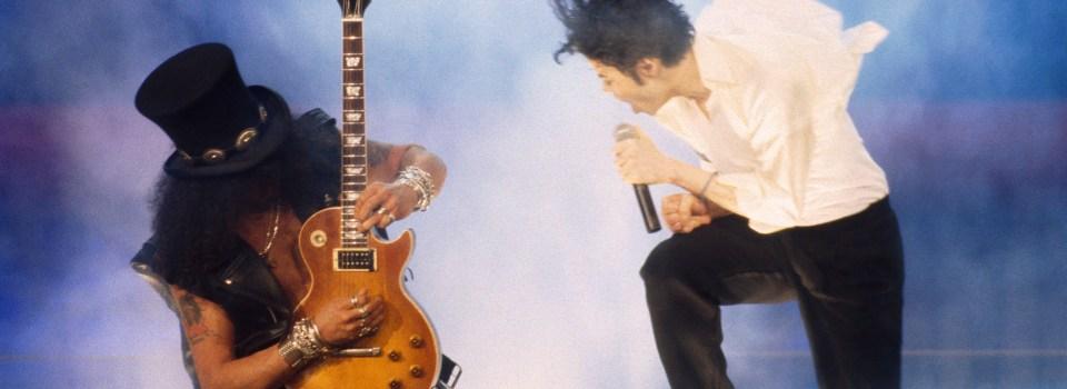 D.S. oli yksi monista MJ:n ja Slashin kollaboraatioista. Klikkaa kuvaa kuunnellaksesi biisiä Spotifyssä.