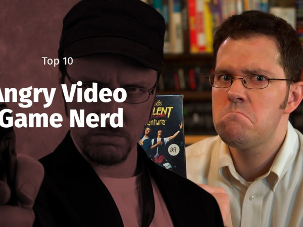 TOP 10 Angry Video Game Nerd -jaksoa