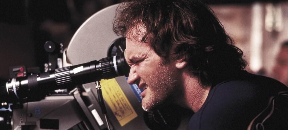 Quentin-Tarantino-On-Set