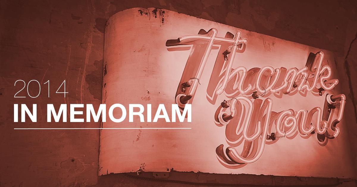 Kiitos lukijoille kuluneesta vuodesta!