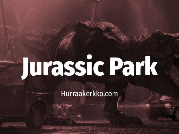 Cult Sure: Tätä metaforaa et huomannut Jurassic Parkissa