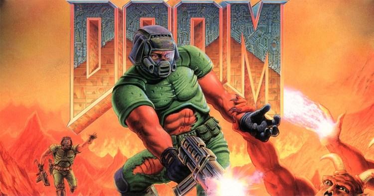 Doom peli kansikuva