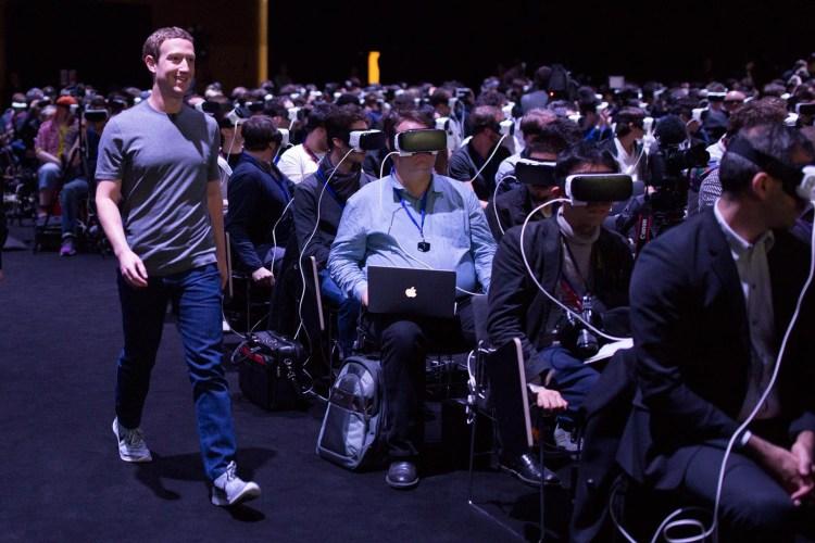 Mark Zuckerberg VR