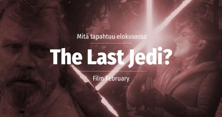 The Last Jedi juoni