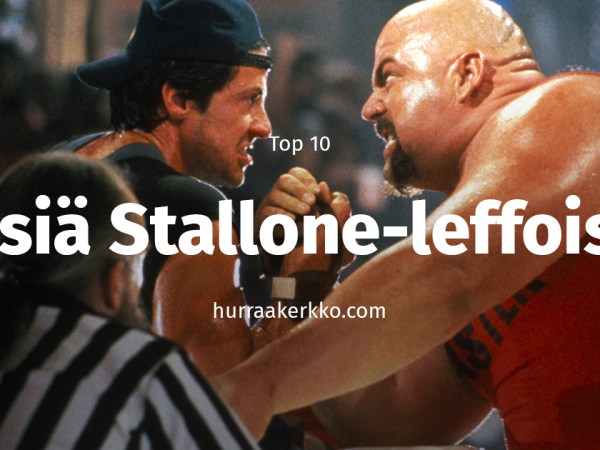 TOP 10 biisiä Stallone-elokuvista