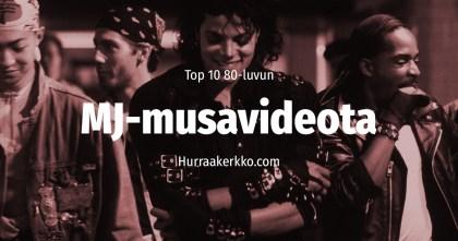 TOP 10 Michael Jackson -musiikkivideota 80-luvulta