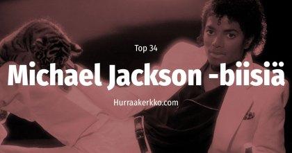 Top 34 Michael Jackson -biisiä