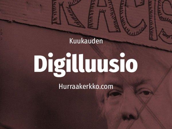 Kuukauden Digilluusio: Arvokeskustelu kuumenee sosiaalisessa mediassa