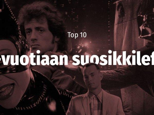 TOP10 kolmekymppisen suosikkielokuvaa