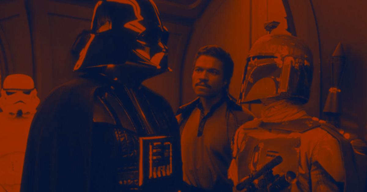 Darth Vader Lando Boba Fett