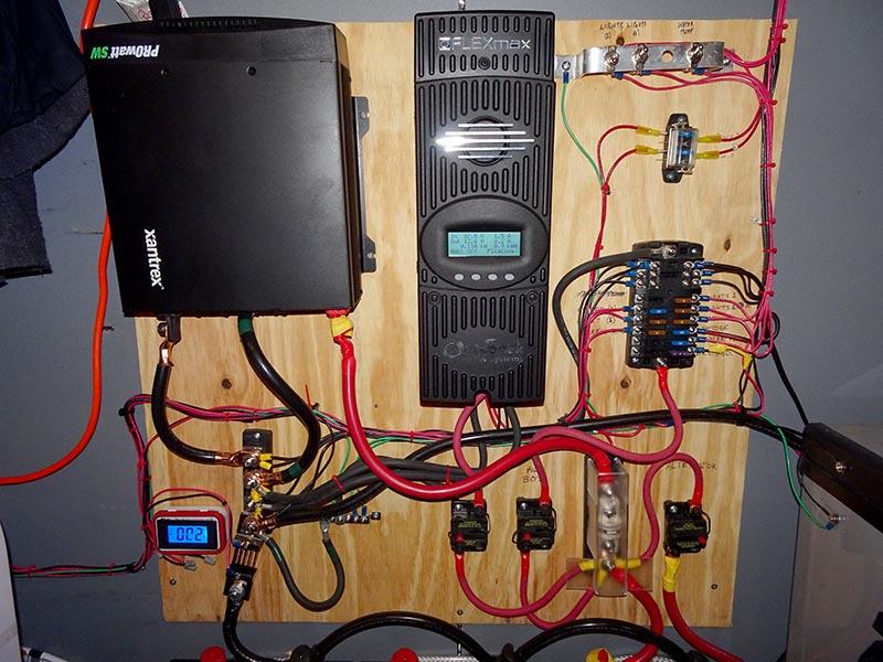 four way light switch wiring diagram 2012 diesel fuel system van conversion wiring: 1,000 watt solar | hurried year