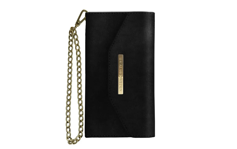 iDEAL of Sweden Mayfair Clutch Velvet iPhone 8 7 6 6S Black - Hurry ... c8b1580d61486