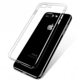 111428 Transparent TPU Case iPhone X
