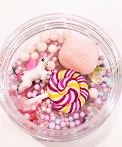 DIY Charms Mythical Unicorn Lollipop + Plastburk Med Skruvlock