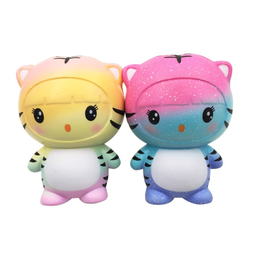 Squishy Kawaii Tiger 2-pack