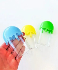 Plastburk Glasspinne 3-pack