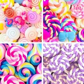 Miniatyrgodis - Slime Charms Lollipop
