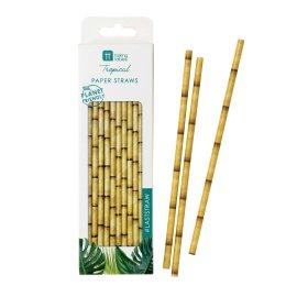 Papperssugrör Bambu Design - Tropical Fiesta