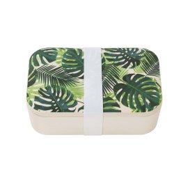 Matlåda Bambu Palmblad - Tropical Fiesta