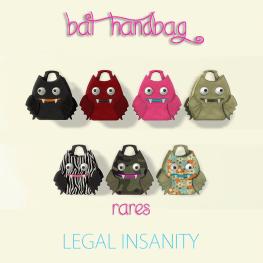 Legal Insanity - Bat Bags (AD)