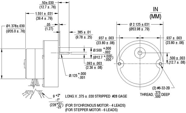 LSG35 Geared Diagrams: