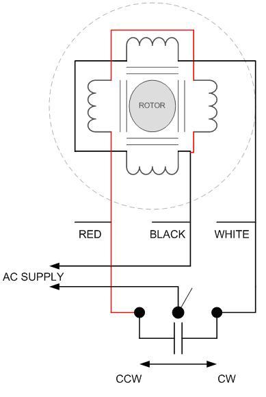 110v Ac 3 Wire Wiring Diagram Dayton Reversible Motor Da Db Geared Model Table