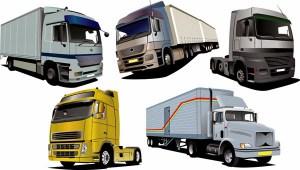 5 Lastwagen