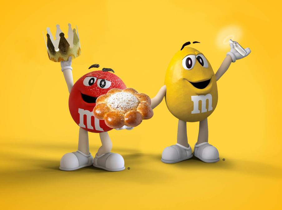 M&M's  3 Kings