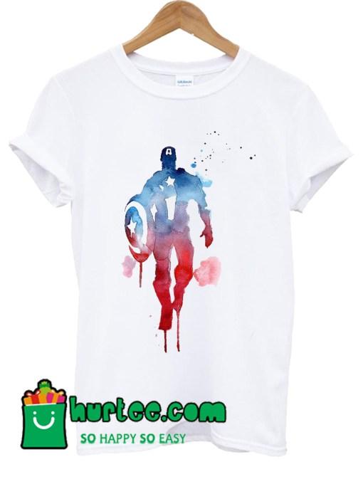 Captain America Superman Avengers T shirt
