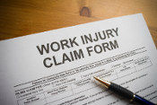 worker's compensation lawyer. Work injury claim form