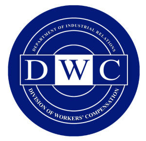 California Department of Industrial Relations. Division of Workers' Compensation logo