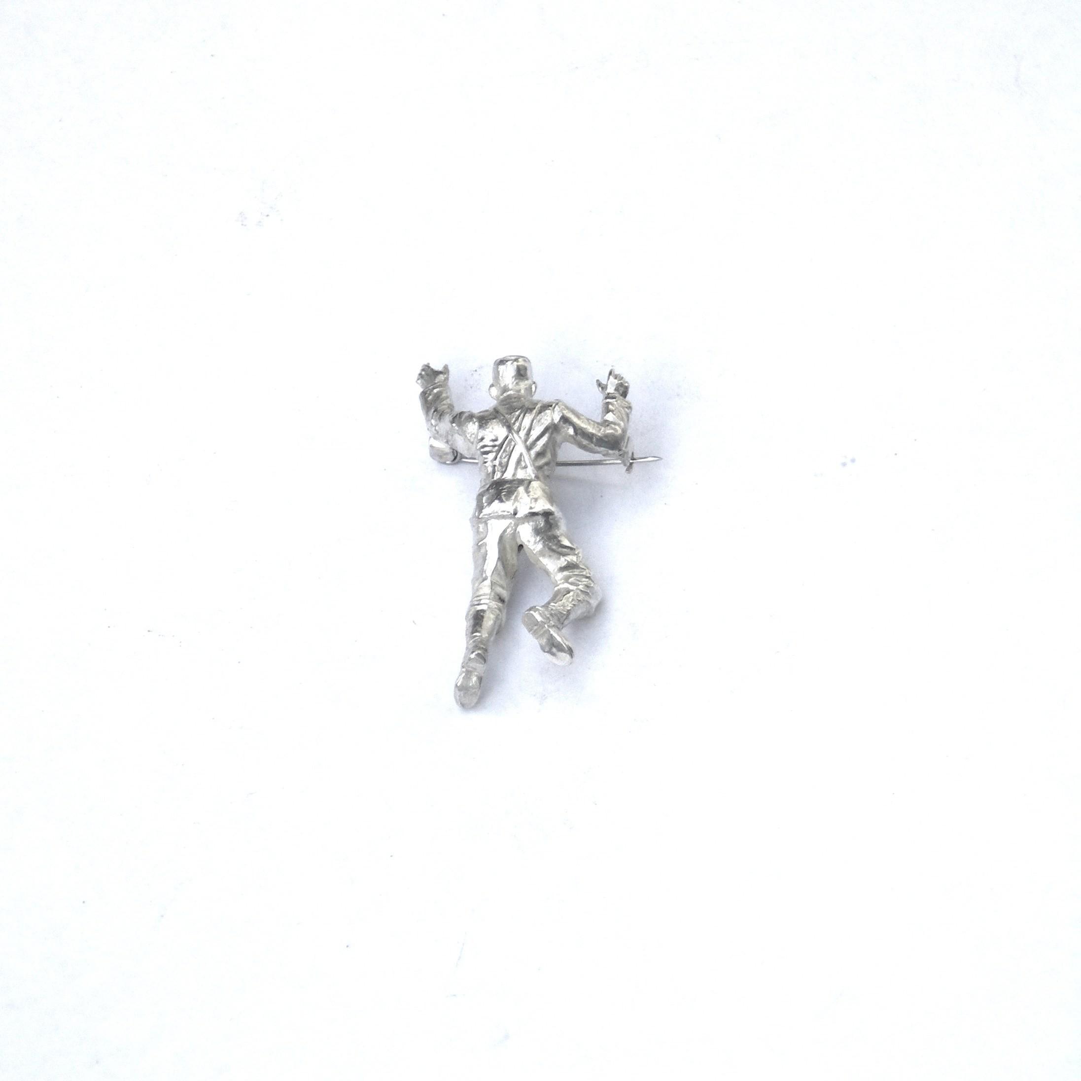AP action man pin