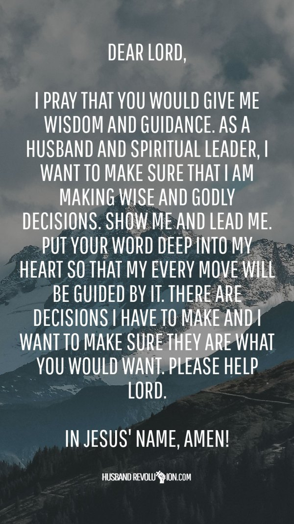 Prayer For Guidance And Wisdom - Exploring Mars