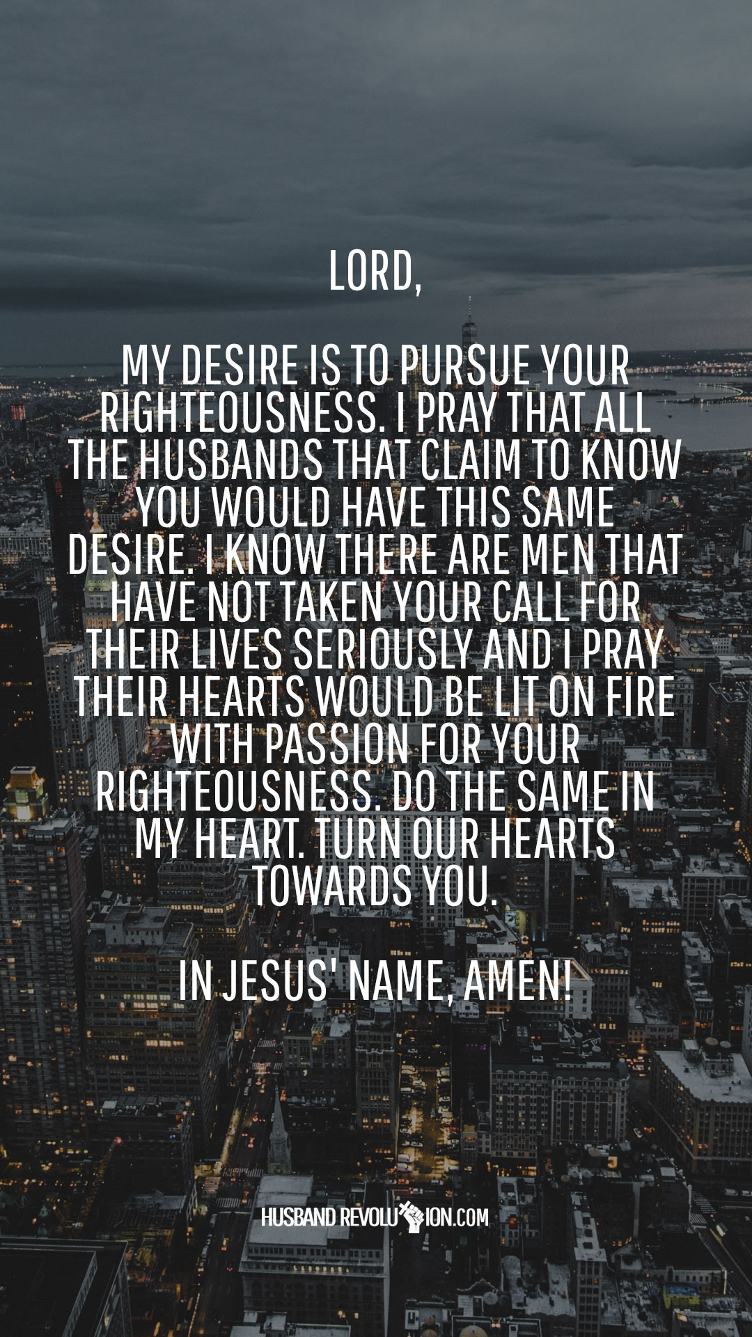 Marriage Prayer Pursue Righteousness
