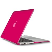 "Husa MacBook Air 13"" SeeThru Hot Lips pink"