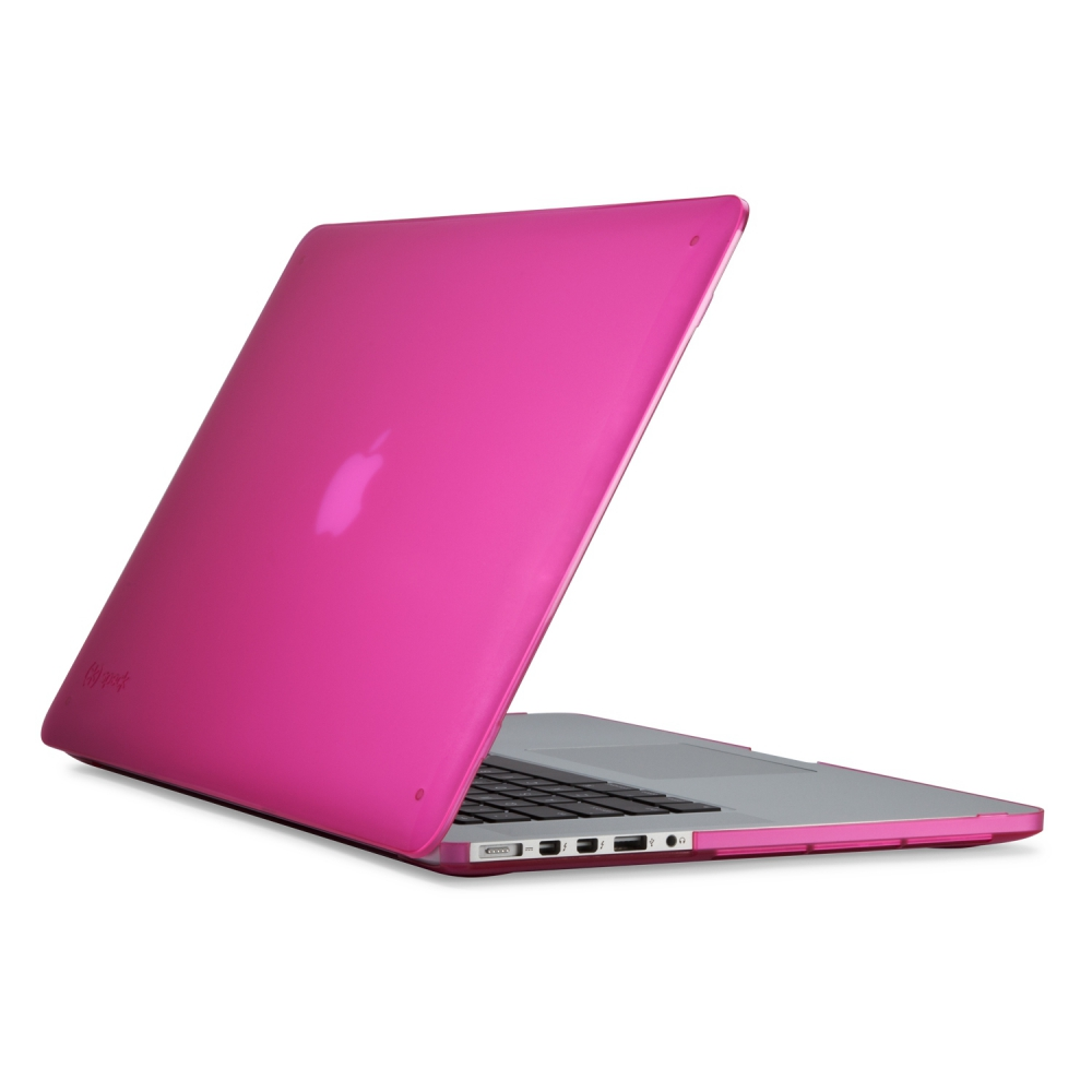 "Husa MacBook Pro RETINA 15"" SmartShell Hot Lips Pink"